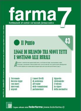 Farma7 n.43 del 2 dicembre 2016