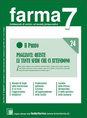 Farma7 n.24 del 23 giugno 2017