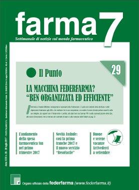 Farma7 n.29 del 28 luglio 2017