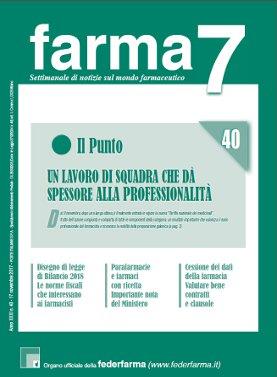 Farma7 n.40 del 17 novembre 2017