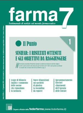 Farma7 n.1 del 12 gennaio 2018
