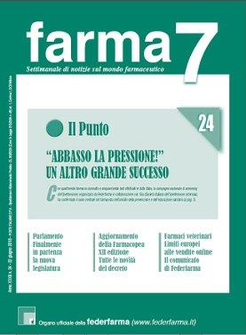 Farma7 n.24 del 22 giugno 2018