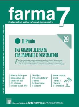 Farma7 n.29 del 27 luglio 2018