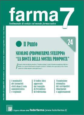 Farma7 n.24 del 21 giugno 2019