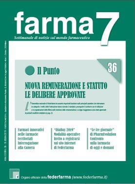 Farma7 n.36 del 18 ottobre 2019
