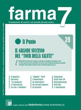 Farma7 n.39 dell'8 novembre 2019