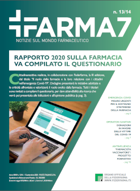 Farma7 n.13/14 del 15 settembre 2020