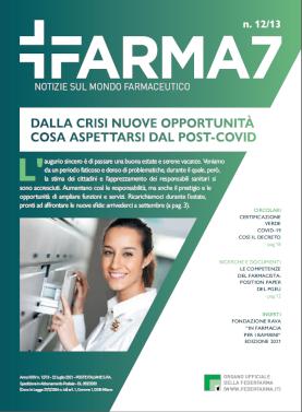 Farma7 n.12/13 del 22 luglio 2021