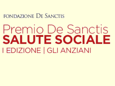 """Premio De Sanctis per la Salute Sociale"""