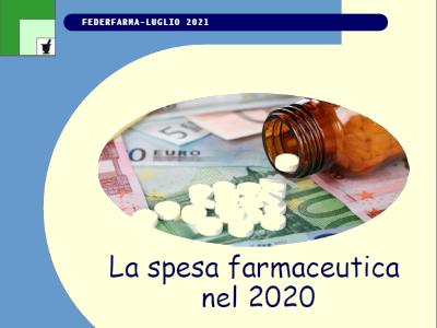 La spesa farmaceutica nel 2020: pubblicato l'opuscolo sul sito Federfarma