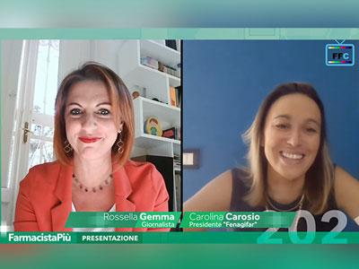 """FarmacistaPiù, Carolina Carosio (Fenagifar): """"Telesorveglianza sul paziente elemento imprescindibile nell'evoluzione dei servizi della farmacia"""""""